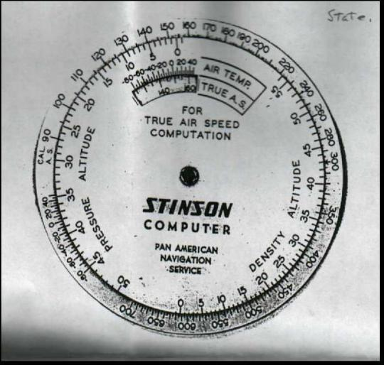 Stinson Circular Slide Ruler 1