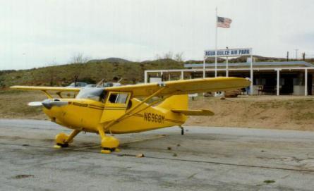 photo stinson airport 1940