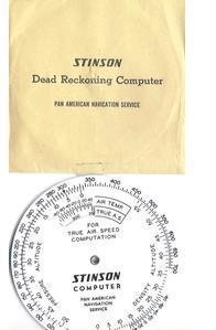 Stinson Circular Slide Ruler 2